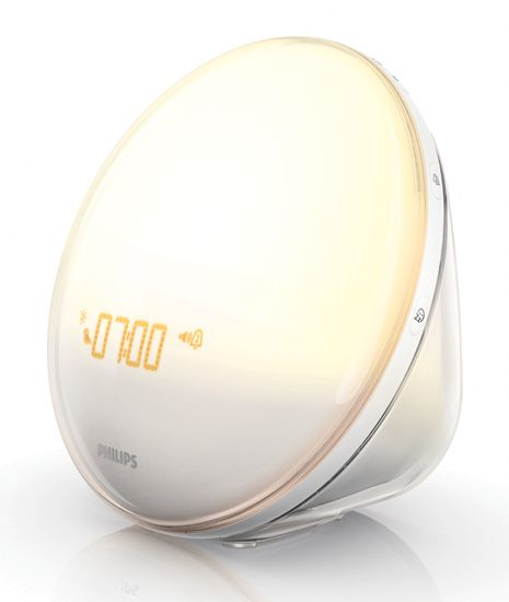 Summer days are long gone, and suddenly the sun is setting before your dinner date. It's enough to mess with a guy's sleeping patterns, which can be bad for your skin. But you can't afford to hibernate until spring, so wake to this clock radio that simulates the rising sun.
