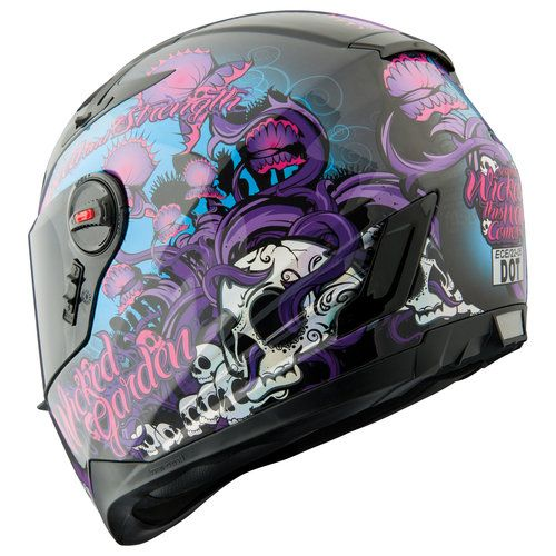 Speed and Strength SS1300 'Wicked Garden' helmet