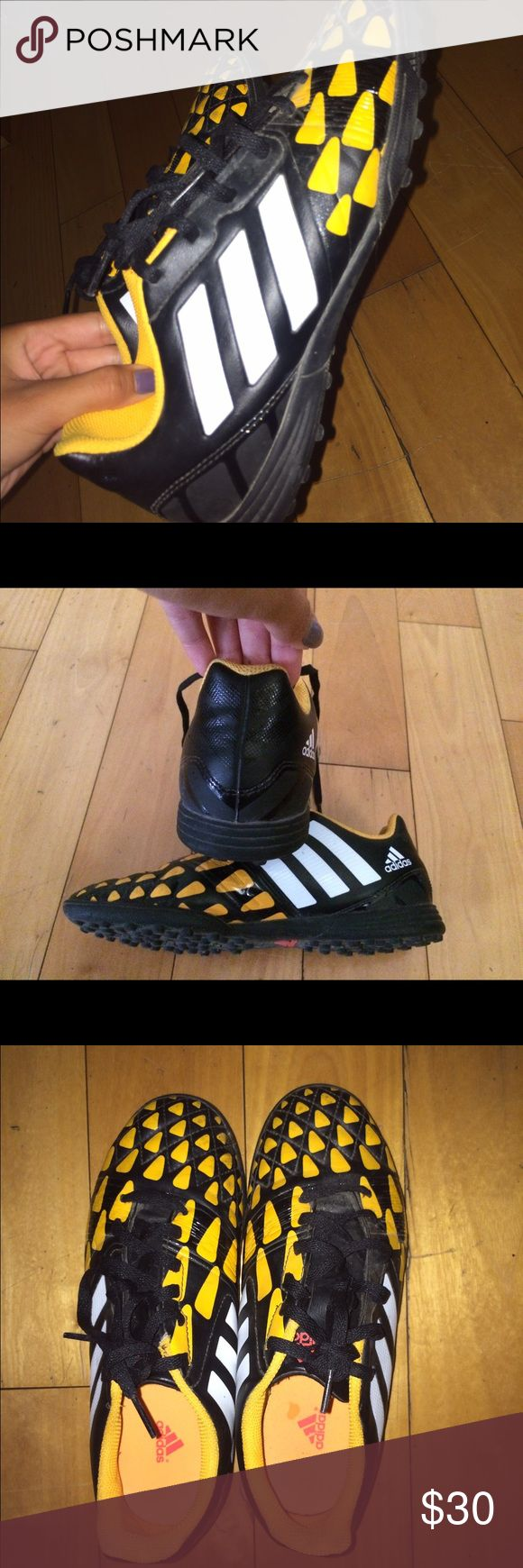 Adidas indoor/turf original soccer cleats Worn once in great condition! Open to reasonable offers! Size 5 Adidas Shoes