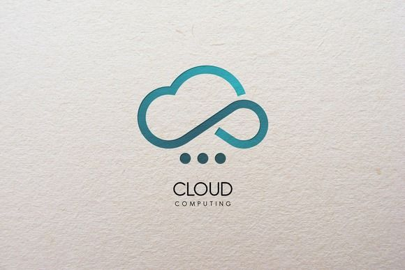 Cloud Computing  Logo by Legend_tp on Creative Market
