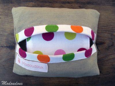 pochette lingette - baby wipes