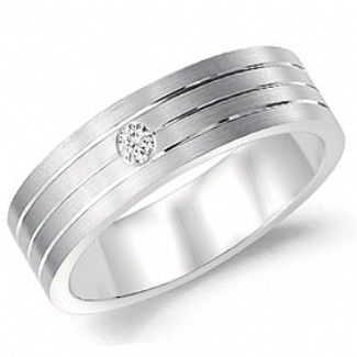 Crown Ring - Collections Wedding Bands Diamond Bands Wb 7106 M10