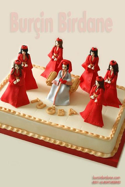 Kina gecesi cake