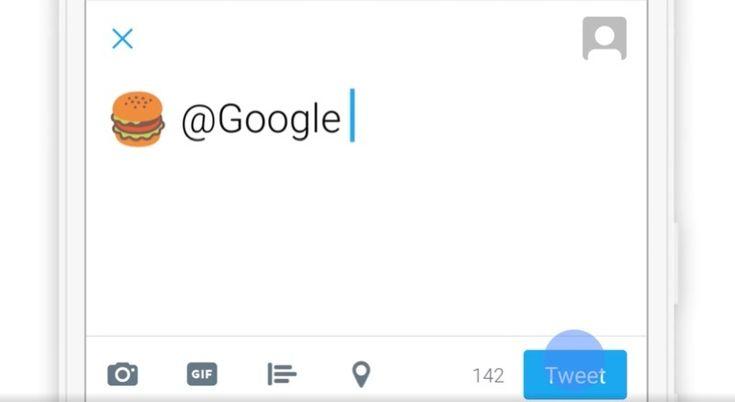 Google emoji ile atılan tweetleri yerel arama sonuçlarıyla yanıtlıyor  http://www.teknoblog.com/google-emoji-tweet-yerel-arama-137409/