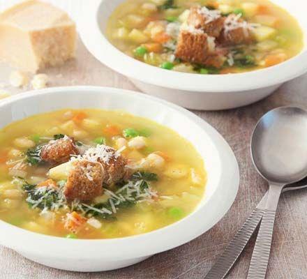 French pistou soup
