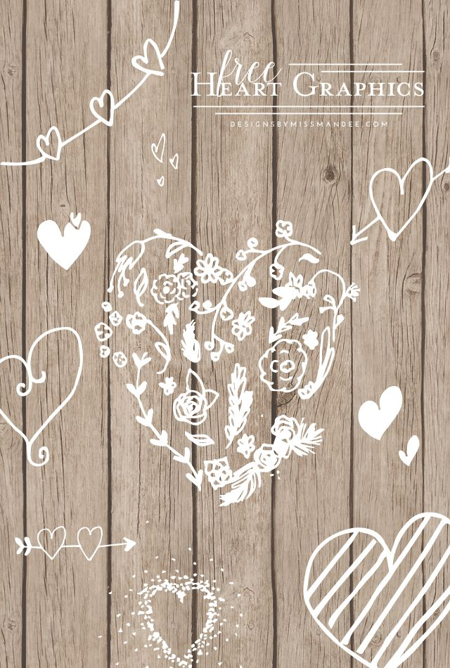 Free Heart Graphics - Designs By Miss Mandee