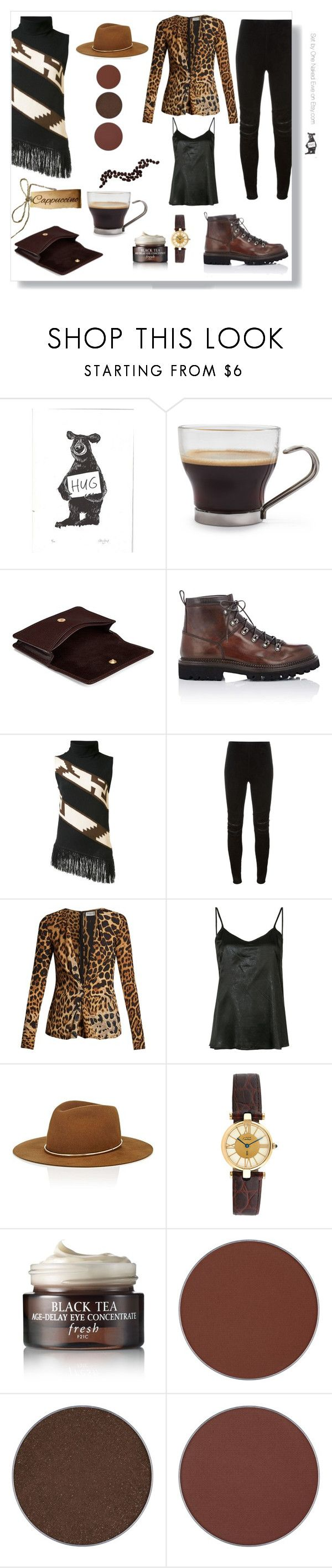 """""""I don't always drink water"""" by onenakedewe ❤ liked on Polyvore featuring Bormioli Rocco, Aspinal of London, Franceschetti, Ralph Lauren Collection, Yves Saint Laurent, RtA, Janessa Leone, Cartier, Fresh and Anastasia Beverly Hills"""