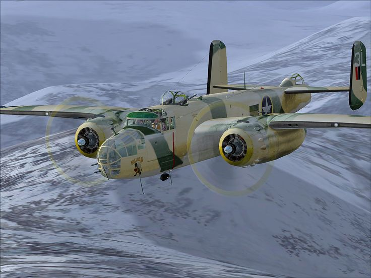 North American B-25 Mitchell was an American twin-engined medium bomber manufactured by North American Aviation