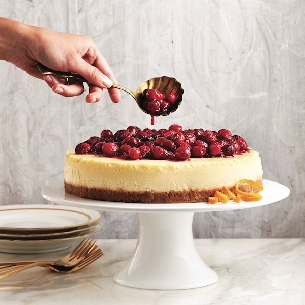 This rich and creamy dessert can be topped with any fruit sauce or simply melted chocolate — it's up to you. (We're partial to this cranberry sauce during the holidays, though.)