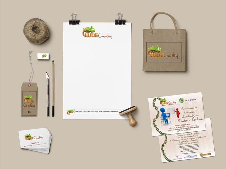 Creazione e realizzazione identità corporativa per Lude Consulting #graphic #design