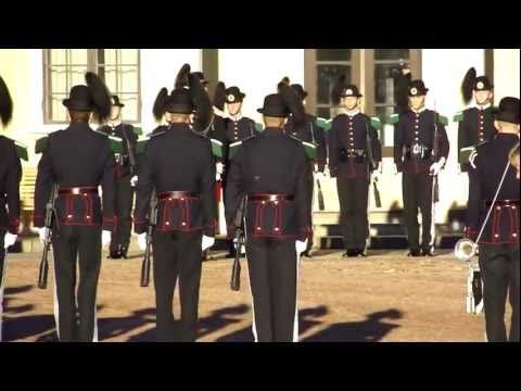 ▶ Norwegian Royal Palace- Changing of the Guard- Oslo, Norway - YouTube