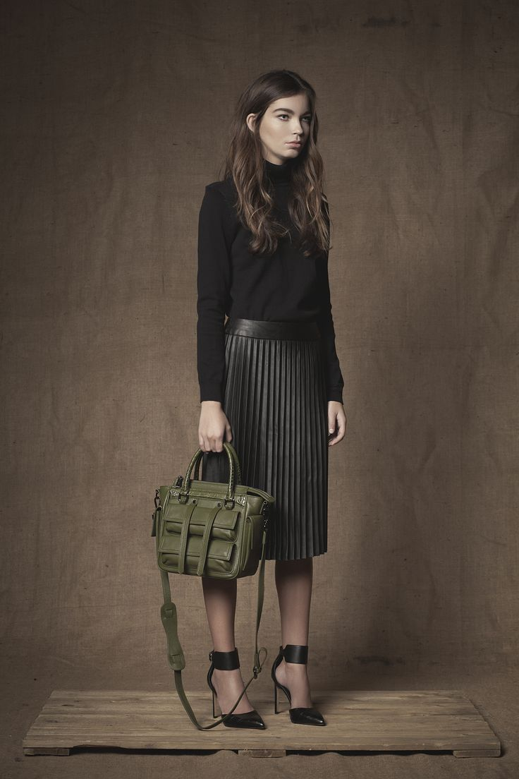 Eviot Mini Satchel #Satchel #Handbag #FW15 #Leather