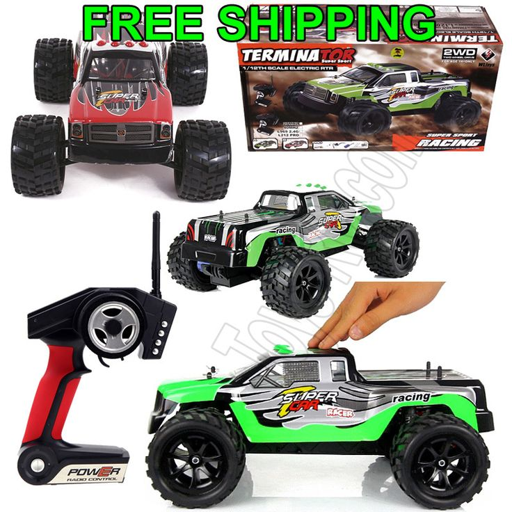 Wltoys L969 Terminator 2.4G 1:12 Electric RTR RC Racing ...