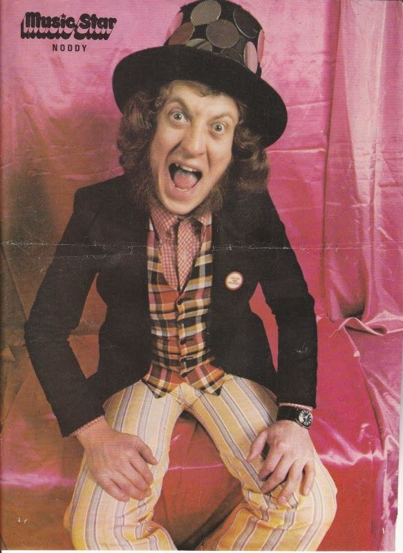 Noddy Holder #pin #MusicStar #70s #Slade