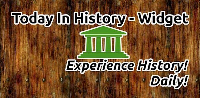 Hoy en la Historia, un widget que te dirá los acontecimientos que sucedieron un día como hoy http://www.xatakandroid.com/p/86921
