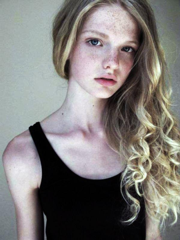 women model blonde freckles - photo #30