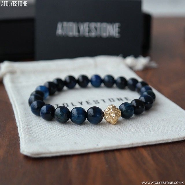 #ATOLYESTONE New Special Design 18kt. Yellow Gold Head Of Lion & Navy Blue Tiger Eye ⠀⠀⠀⠀⠀⠀⠀⠀⠀ The unique and charming designs of @ATOLYESTONE bracelets are handcrafted and produced with care. ⠀⠀⠀⠀⠀⠀⠀⠀⠀ @ATOLYESTONE @ATOLYESTONE @ATOLYESTONE ⠀⠀⠀⠀⠀⠀⠀⠀⠀ SHOP NOW ⠀⠀⠀⠀⠀⠀⠀⠀⠀ WWW.ATOLYESTONE.co.uk