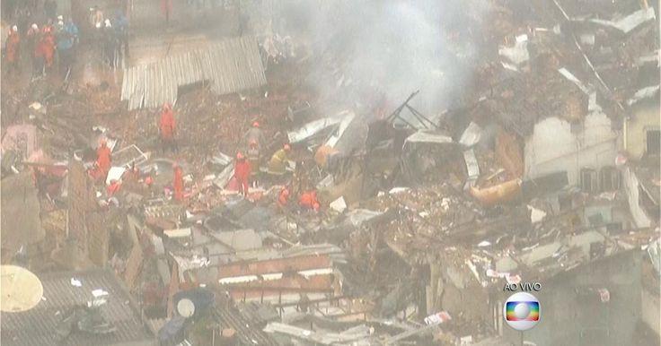 Forte explosão deixa feridos e destrói vários imóveis na Zona Norte do Rio