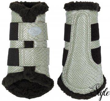Harrys Horse kígyóbőr mintázatú lábvédő Flextrainer