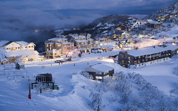 Mount Hotham - Victoria's highest Alpine Village #snowaus