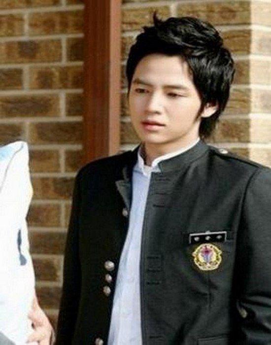 Jang Geun Suk hairstyles for school