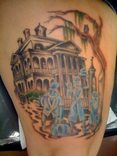 haunted mansion tattoo | Recent Photos The Commons Getty Collection Galleries World Map App ...