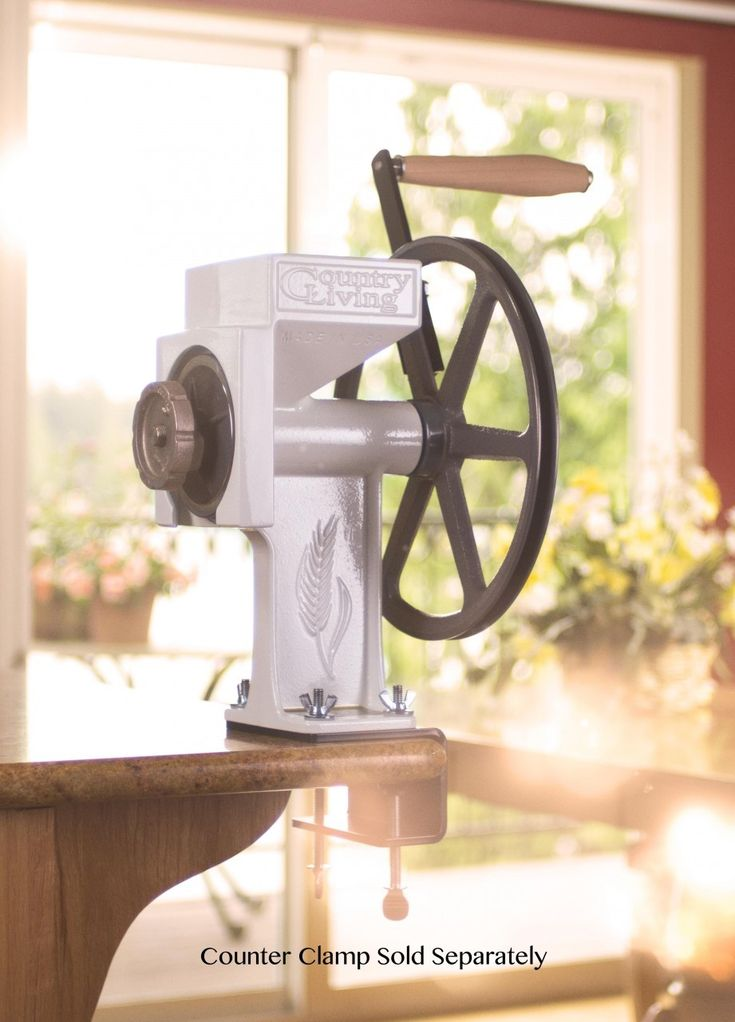 Grain Mill By Country Living Products For Grinding Wheat Into Flour