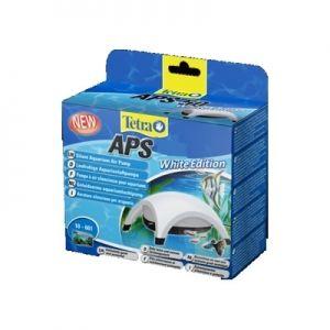 TETRA Pompe à air APS 50 Black Edition - aquarium 10-60L 13,90 € Pompe de très grande qualité, fonctionnement très silencieux grâce à une construction innovante de la pompe, à l'épaisseur de la paroi du boîtier et aux pieds spéciaux en caoutchouc qui absorbent les vibrations débit d'air important et régulier grâce à une membrane efficace et résistante. Robinet de contrôle du débit compris dans la livraison. Débit 50 L/H, convient pour aquarium de 10 à 60 Litres.