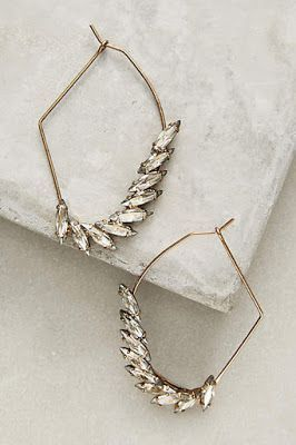 These angel-wing earrings are heavenly.