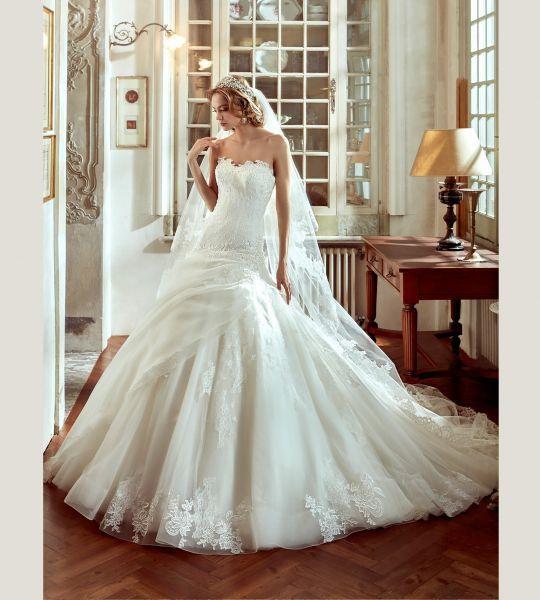 Vestidos de novia palabra de honor 2017: ¡El diseño más deseado! Image: 16