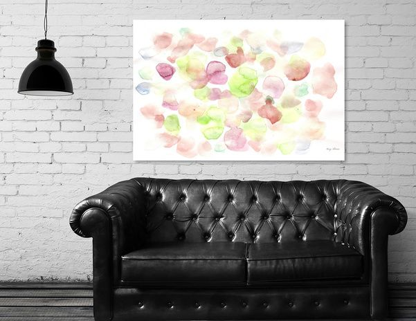 Discover «170725 Abstract Watercolour 11», Limited Edition Aluminum Print by valourine - From $99 - Curioos