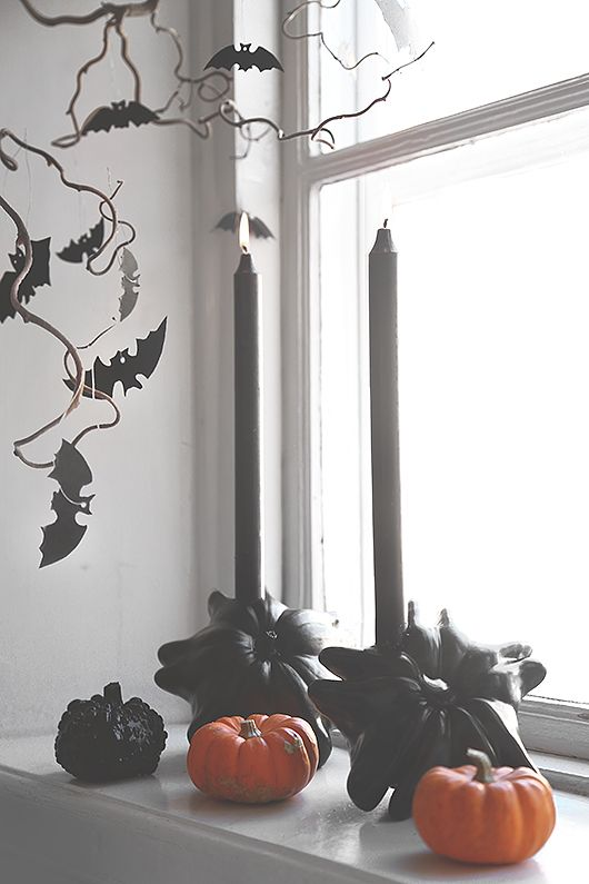 211 best diy halloween toutes nos inspirations images on for Decoration fenetre halloween