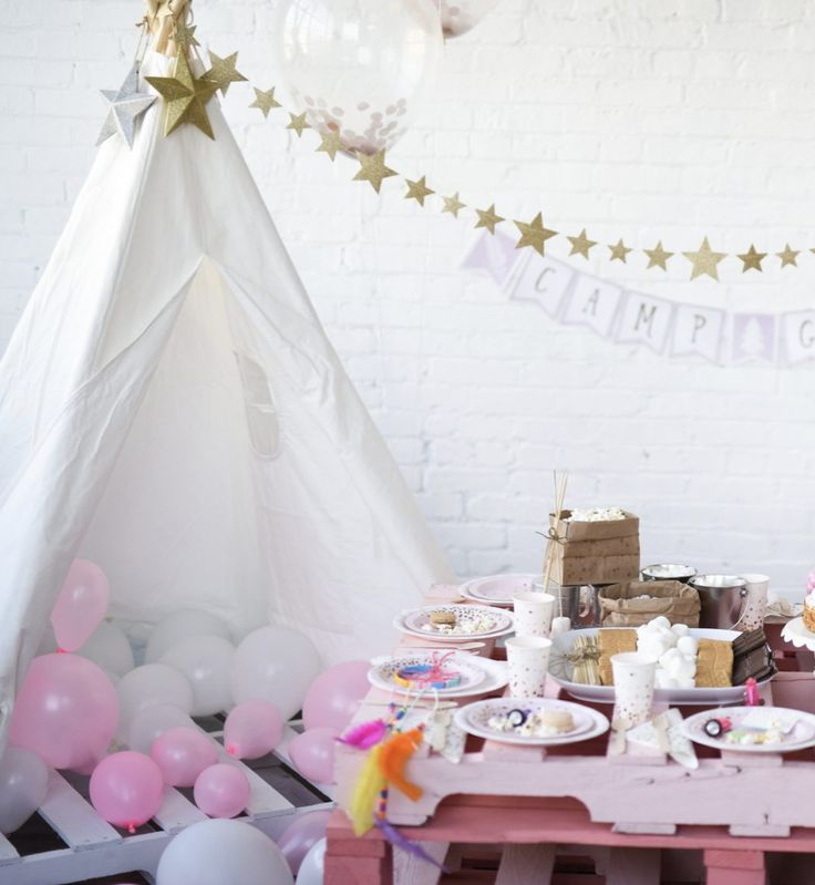 Smore Party Supplies 13 best Camping Themed Party