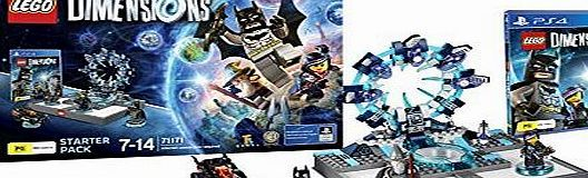 Tt Games LEGO DIMENSIONS STARTER PACK PS4 Warner Sw Ps4 603366 Lego Dimensions-Starter P (Barcode EAN = 5051893232059). http://www.comparestoreprices.co.uk/latest1/tt-games-lego-dimensions-starter-pack-ps4.asp