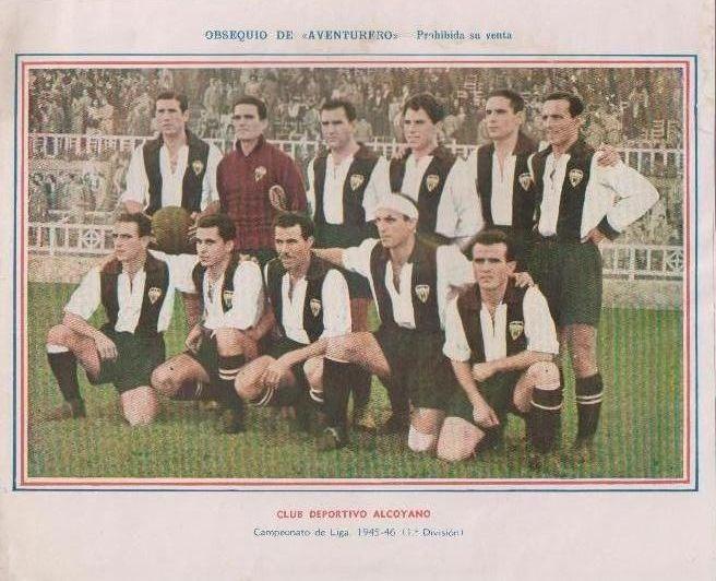 Club Deportivo Alcoyano (Temporada 1945-46)