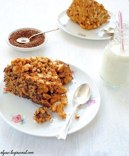 Приятного аппетита!     Ингредиенты (на 4 порции): тесто 60 гр. сливочного масла 1 яйцо 3 ст. ложки сметаны 1 ст. ложка сахара 1 пакетик (1...