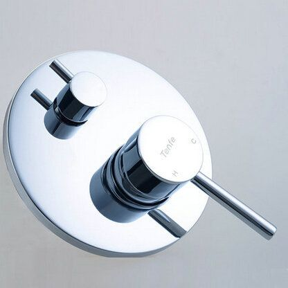 Basons wall copper hot and cold mixing valve concealed shower four-way valve mixing valve concealed alishoppbrasil