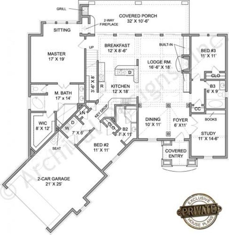 Rustic Ranch Floor Plans