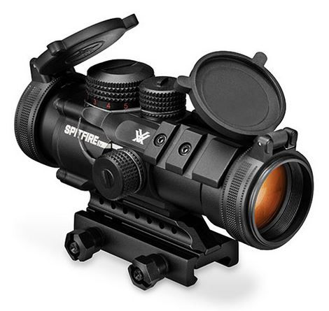 Vortex Optics - Designed specifically for the AR platform, the 3x Spitfire combines an impressive array of high-performance features into a rugged, ultra-compact package. When fast target acquisition in close- to medium-range shooting applications is a priority, the Spitfire excels. Laced with advanced features, the sophisticated prism-based design allows for a more compact optical system without sacrificing optical quality.