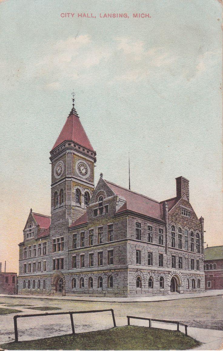 Lansing City Hall, 1897-1959