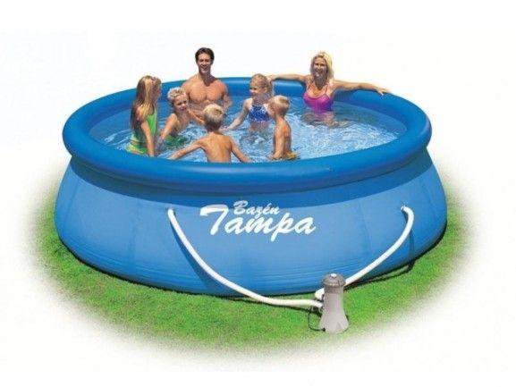 Bazén Tampa 3,96x0,84 s kartušovou filtrací - Kliknutím zobrazíte detail obrázku.