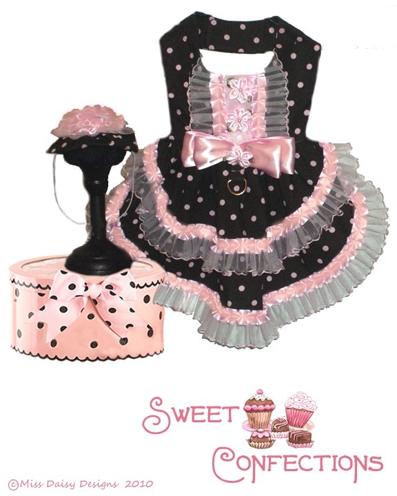 Dog Clothes Pattern With Cupcake Hat Size XS PDF. $7.99, via Etsy.