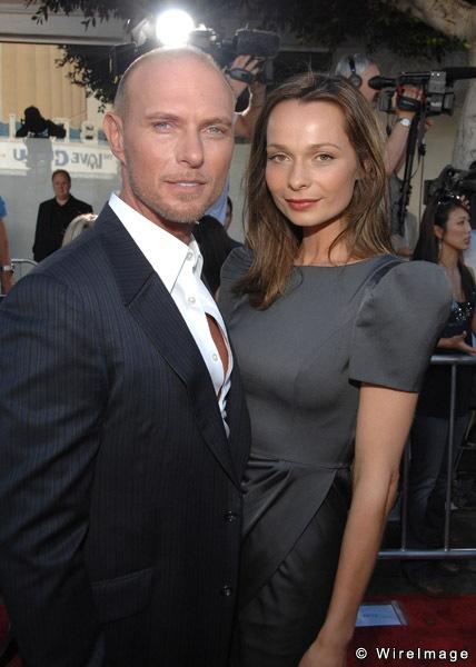 Luke Goss And Wife