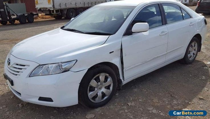 2007 TOYOTA CAMRY ALTISE SEDAN AUTO LIGHT DAMAGE REPAIRABLE #toyota #camry #forsale #australia