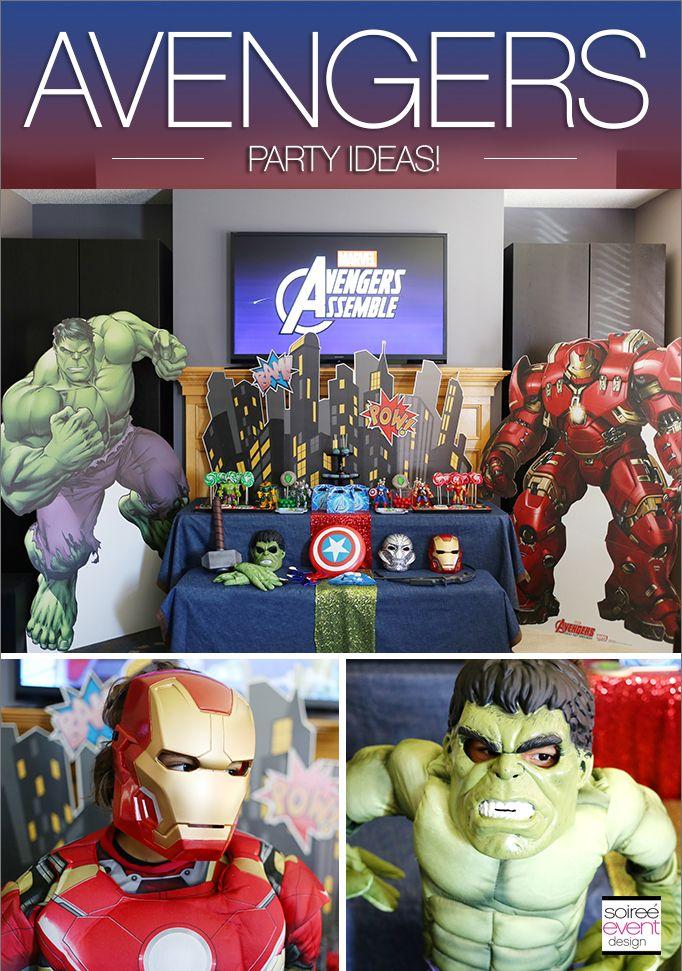 119 best MARVEL Party images on Pinterest | Avenger party, Marvel ...