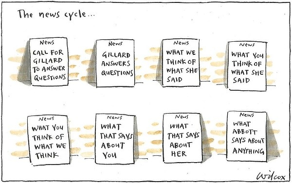 Sunday, August 26, 2012. Illustration: Cathy Wilcox