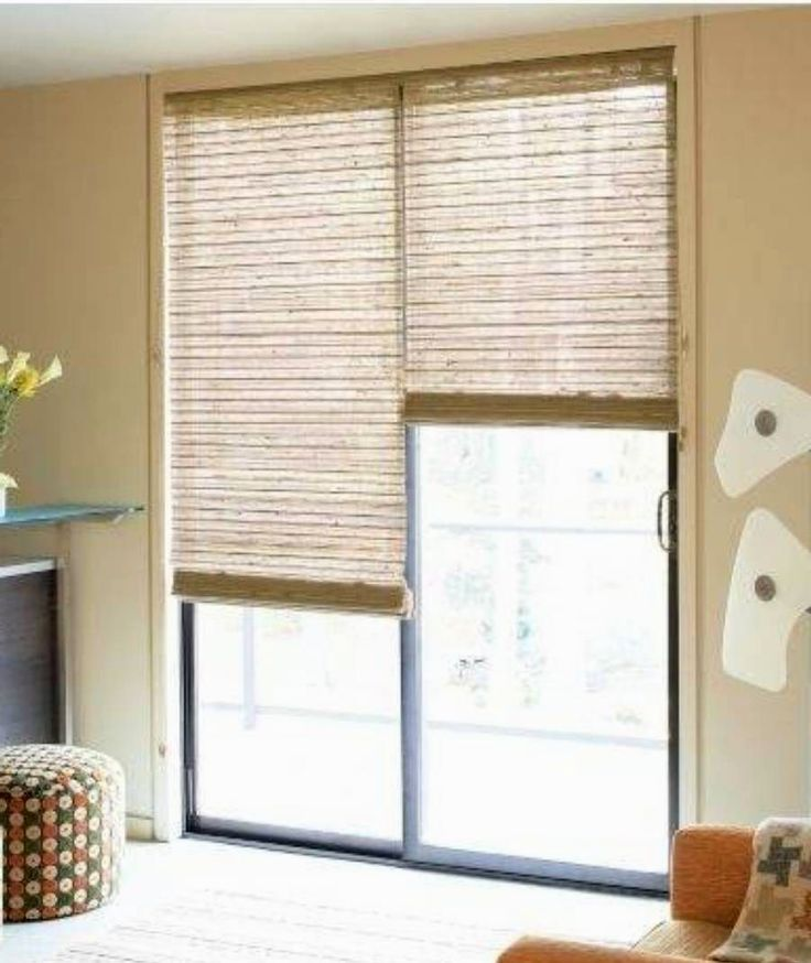 Top 25 best Sliding door window treatments ideas on Pinterest