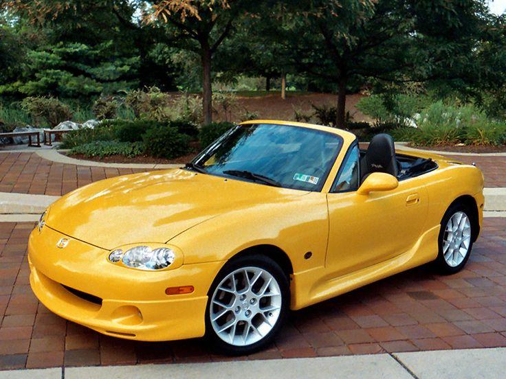 Mazda Speed 3 >> Blazing Yellow MX5 Miata with Mazdaspeed body kit | Cars and bikes | Pinterest | Cars