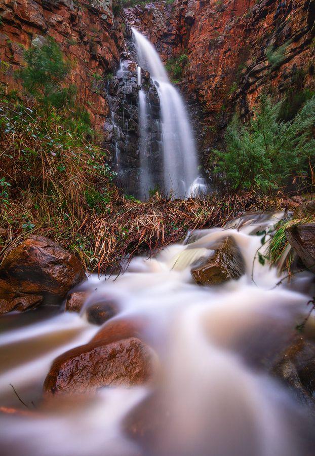 Morialta Falls, Morialta Conservation Park, South Australia.