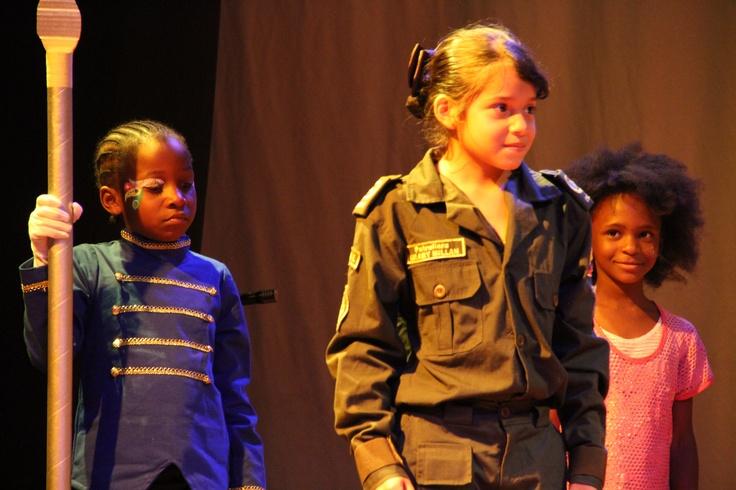 Los pequeños actores de Juanchito
